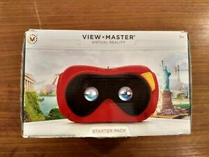 Vintage View-Master 3-D viewer reels projector gift set collection Spider-Man Hulk Mickey Mouse Disney Batman Marvel comic book characters