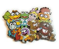 MUPPET BABIES Muppets 80s Cartoon Jumbo Fantasy Hat Jacket Tie Tack Lapel Pin