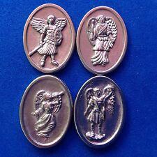 4 ARCHANGEL Pocket Token St Michael Raphael Gabriel Uriel Protection Saint Medal