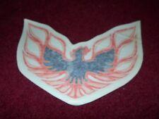 "1976 PONTIAC FIREBIRD TRANS-AM HOOD BIRD DECAL TRANSFER NEW ORANGE 8 1/2"" NICE!"