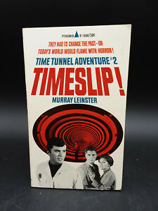 Murray Leinster TIMESLIP Time Tunnel Adventure #2 TV tie in vintage 1967 1st prt