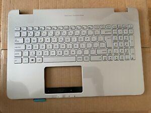 NEW ASUS N551JK N551JQ N551JX Topcase Palmrest W/ Czech Keyboard 90NB05T1-R31CZ0