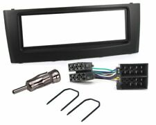 FIAT GRANDE PUNTO 2005 ONWARDS CD RADIO FASCIA FACIA ADAPTER FITTING KIT BLACK