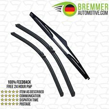 Ford Focus Hatchback MK 3 (2011 to 2015) Wiper Blade Complete Set X3 Front Rear