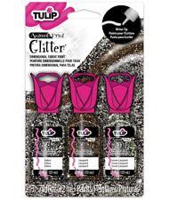 Tulip Animal Paillettes 3D Tissu Peinture Pack de 3-Meilleur prix Europe-Papier Carte