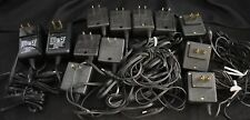 Lot of 13 Vintage Nokia Ac Wall Chargers with cords for vintage cell phones