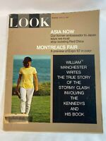 Look Magazine Vintage April 4,1967 Asia Now & Montreal's Fair in Color