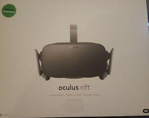 Oculus Rift CV1 VR Virtual Reality Headset System - Black