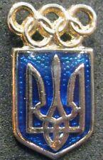SOCHI 2014 Olympic UKRAINE NOC team delegation pin