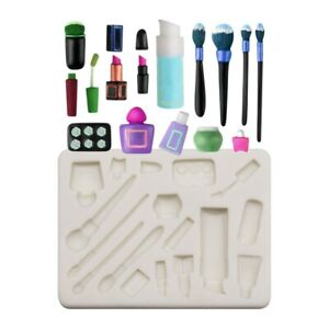 Make Up Tool Silicone Cake Fondant Decor Sugarcraft Mold Chocolate Baking Mould