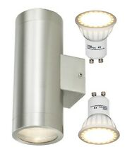 8w LED Stainless Steel Double Up Down Outdoor Indoor Wall Light IP65 Energy Save