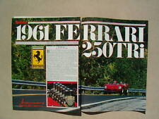 1961 FERRARI 250TRi   ***ORIGINAL ARTICLE***