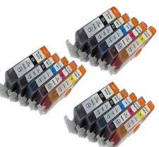 15 Ink Set w/ CHIP for PGI-225 CLI-226 Canon Pixma iX6520 MX882 Wireless MG5220