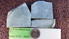 U (Frazer) - Frazer River, British Columbia Jade Slabs 3.1 oz. 3.8 - 5.7 mm