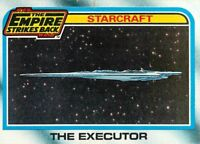 1980 TOPPS STAR WARS THE EMPIRE STRIKES BACK ERROR OFF CENTER BACK CARD #135