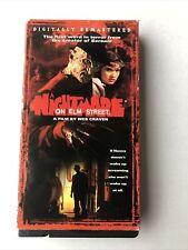 A Nightmare on Elm Street - Vhs Tape