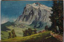 Wetterhorn , mountain, Aygo ? Aigo ? Alpen