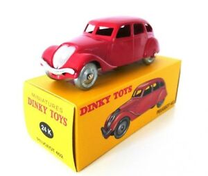Peugeot 402 rouge Dinky Toys Deagostini Voiture Miniature - 24K