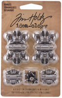 Tim Holtz Idea-ology Hinges Ideaology Decorative Metal Fasteners TH93075