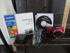 Olympus SZ-12 Digital Camera IN BOX instructions TESTED WORKS