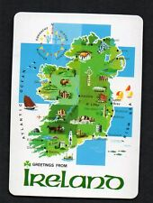Vintage Playing Card : IRELAND