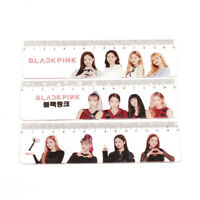 KPOP BLACKPINK Straight Ruler Students Stationery Office School Supplies Balss
