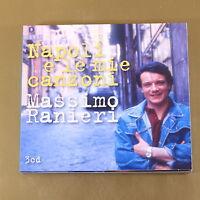 MASSIMO RANIERI - NAPOLI E LE MIE CANZONI - 3CD - OTTIMO CD [AL-063]