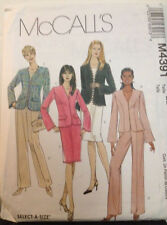 Butterick 4391 - Misses Petite Lined Jacket, Pants & Skirt - Sizes 14-16-18-20