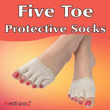 Protective Drying Toe Socks * Blisters, Bunions, Athlete's Foot, Corns, Verrucas