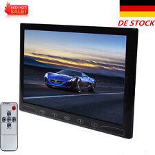 """10"""" Ultrathin HD Color CCTV Monitor Touch Screen AV/VGA/HDMI + Speaker DE STOCK"""