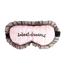 Sale Fashion Nylon Lace Eye Mask Cover For Traveling Sleeping Aids Blindfold