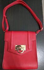 New Fashion Red Women Small Crossbody Handbag Purse Bag Shoulder Strap Bag