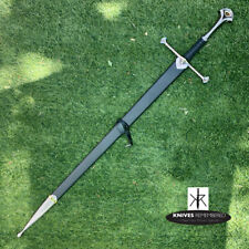 Lord of the Rings Anduril Aragorn Strider Ranger Sword w/ Scab - Custom Engraved