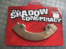 THE SHADOW CONSPIRACY Bicycle 6061 T6 Bike Sprocket Guard & Bolts Size 39 NOS