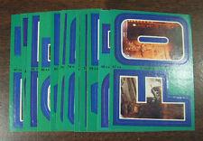 1980 Topps Star Wars Empire Strikes Back Series 3 Complete 22 Green Sticker Set