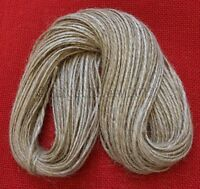 50m Mts Xtra Thick 2-Ply Rustic Natural Jute Hessian Burlap Twine String Cord