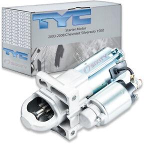TYC Starter Motor for 2003-2008 Chevrolet Silverado 1500 4.8L 5.3L V8 ud