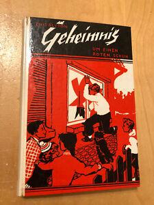Enid Blyton, Geheimnis um einen roten Schuh, 1959 Klopp Verlag Berlin