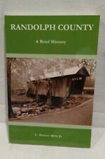 Randolph County North Carolina A Brief History Genealogy Books