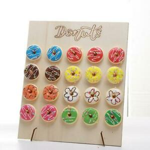 Donut Doughnut Wall Stand Party  Sweets Candy Cart Wedding Favour Birthday