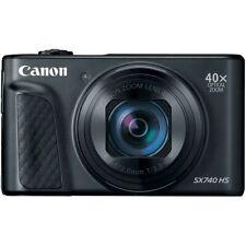 Brand New Canon PowerShot SX740 HS 20.3MP 4K Digital Camera - Black