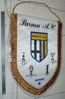 GRAND FANION PENNANT WIMPEL FOOTBALL PARMA AC CALCIO ITALIA GIALLOBLU 1995