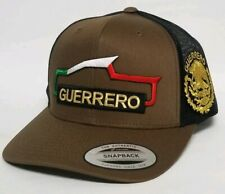 Guerrero Mexico Troka Hat Mesh Trucker Snap Back Adjustable New