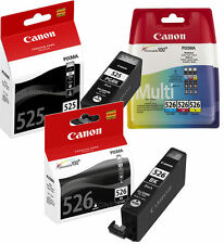 5x INCHIOSTRO CARTUCCE ORIGINALE CANON PIXMA ip4800 ip4900 mg5100 mg5200 mg5300 mx895