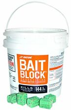New listing Bait Block Rodenticide Mouse Mice Rat Rodent Killer Poison Food 144 Blocks 9Lbs