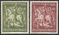 Germany 1943 Goldsmiths/Art/Gold/Statue/George/Dragon/Sculpture 2v set (n41804)
