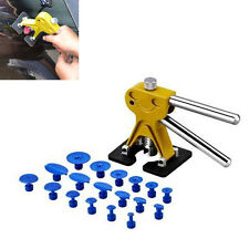 Auto Body Lifter Glue Puller+18 Tabs Hail Removal Paintless Dent Repair pdr Tool