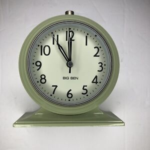 1931 Reproduction Big Ben Alarm Clock L.L. Bean Exclusive Light Olive Green