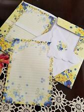 For Arts Sake E9 Carol Wilson Writing Paper & Envelope Set 25pc -Bouquet WSF2389