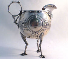 Wonderful Chicken Leg by Gorham Coin Silver Creamer